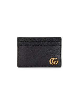 Gg Marmont Leather Money Clip by Gucci