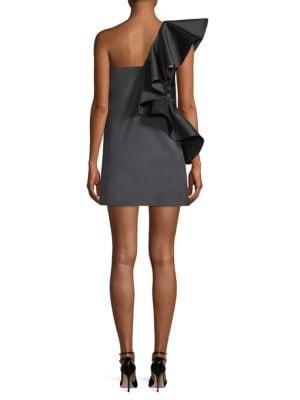 AMUR Linings Willa Ruffle Dress