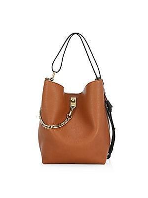 Givenchy - Infinity Leather Bucket Bag - saks.com 80b286c2cd979