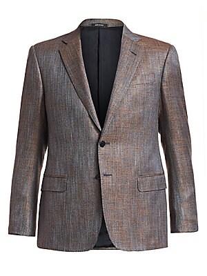f497892f8 Giorgio Armani - Melange Single-Breasted Jacket