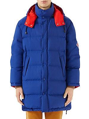 a97399b8a54a6 Gucci - Nylon Puffer Jacket - saks.com