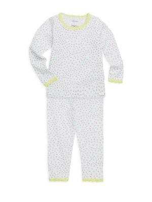 Little Girls  Girls TwoPiece Cotton Pajama Set