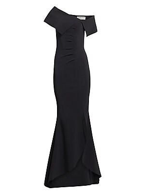 fdc8e96247196 Chiara Boni La Petite Robe - Egida One-Shoulder Mermaid Gown - saks.com