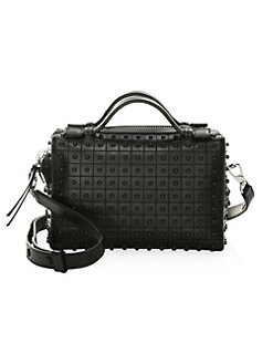4a195794c77 Medium Diodon Leather Box Bag BLACK. QUICK VIEW. Product image. QUICK VIEW.  Tod's