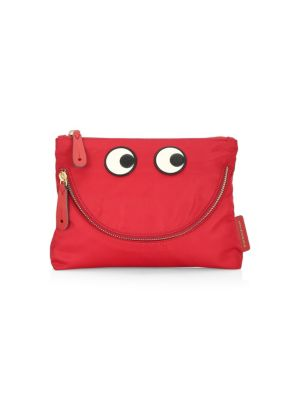 Happy Eyes Pouch, Red