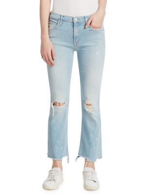 The Dutchie Ankle Jeans by Mother
