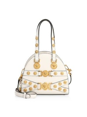 Small Tribute Medallion Handbag by Versace