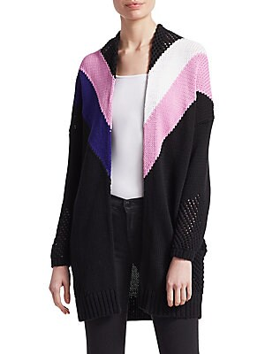 6b757b7e3e5d75 Maje - Cold Shouldered Ribbed Sweater - saks.com