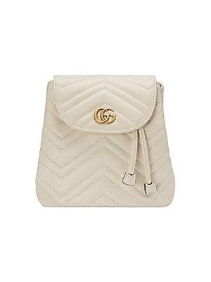 f13b298e824 Gucci - GG Marmont Matelassé Backpack - saks.com