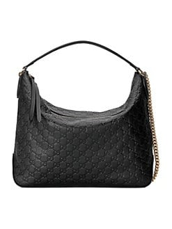 c4deff496c4 Gucci. Signature Large Hobo Bag
