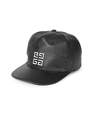 afd05886a49 Givenchy - Textured Leather Baseball Cap