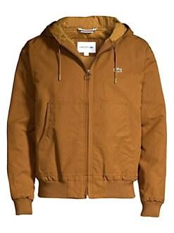 81f7399bdb1c QUICK VIEW. Lacoste. Zip-Up Hooded Jacket