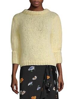 e565801c034 Ganni - Julliard Mohair-Blend Sweater