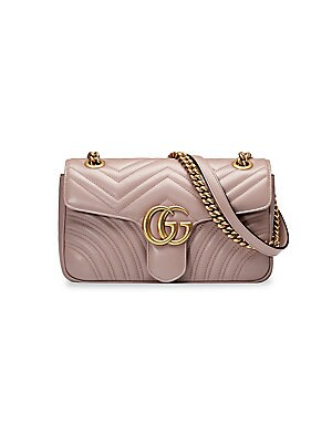 fbb363b8d7de Gucci - Small Marmont Matelasse Leather Shoulder Bag - saks.com