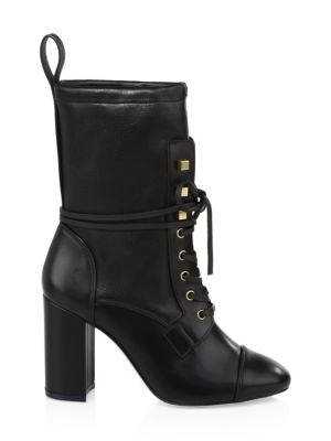 Veruka Leather Boots by Stuart Weitzman