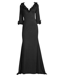 Basix Black Label Fl Liqué Gown