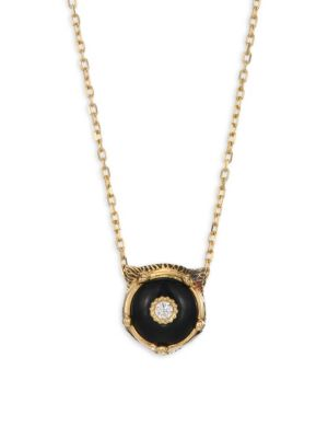13c6b14cb Gucci - Icon Twirl 18K Yellow Gold Pendant Necklace - saks.com