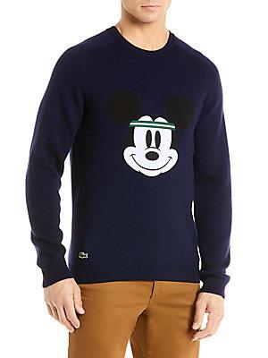 7831178b9 Lacoste - Lacoste Disney Collaboration Mickey Face Sweater - saks.com