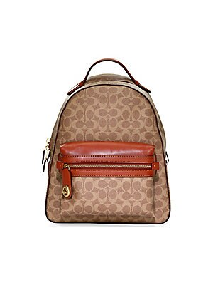 be5131dd64 COACH - Textured Campus Backpack