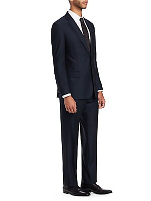 79169bc2199e Emporio Armani - G Line Regular-Fit Wool Suit - saks.com