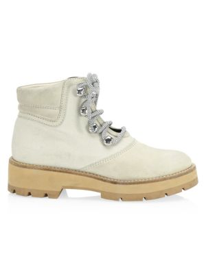 Dylan Lace-Up Hiking Boots in Neutrals
