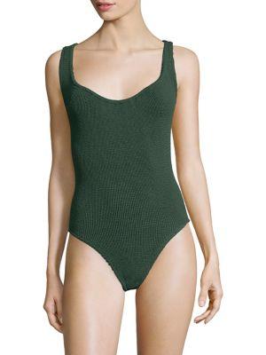 Hunza G Zora One-Piece Swimsuit