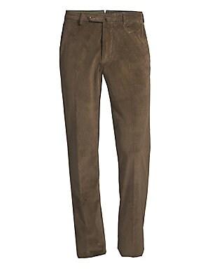 Incotex Benson Wool Fancy Corduroy Trousers
