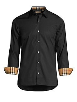 c0d8e2bd William Button-Down Shirt BLACK. QUICK VIEW. Product image