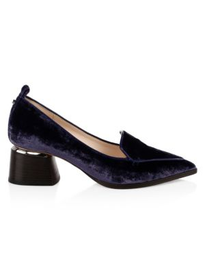 Beya Block Heel Loafers by Nicholas Kirkwood