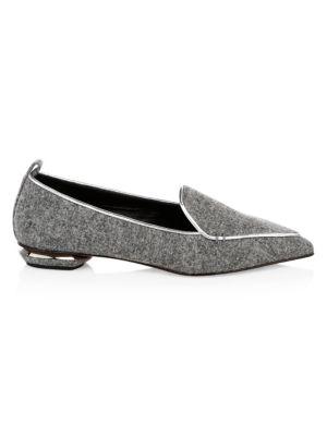 Beya Wool Loafers by Nicholas Kirkwood