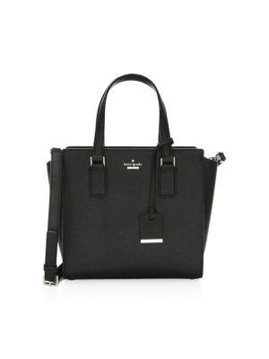 Cameron Street - Small Hayden Leather Satchel - Black