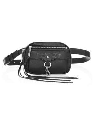Blythe Leather Crossbody Bag - Black from REBECCA MINKOFF
