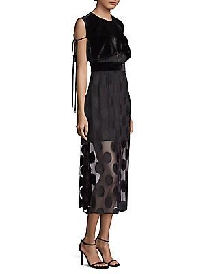 5851dd23dc Dodo Bar Or - Agenes Embellished Chiffon Midi Dress - saks.com