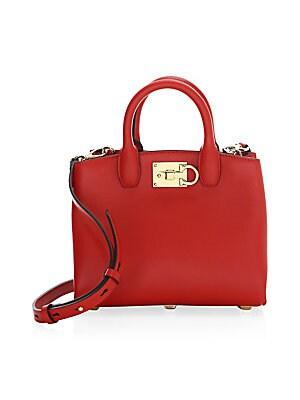 74cff41f6c Salvatore Ferragamo - Gancio City Leather Chain Shoulder Bag - saks.com