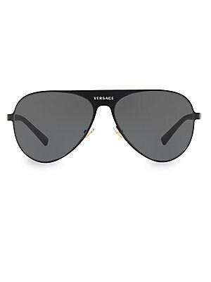 d3adbc6fb447 Versace - 59MM Aviator Sunglasses