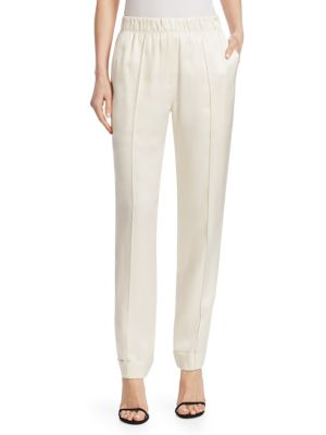 Stretch Silk Pants by Helmut Lang