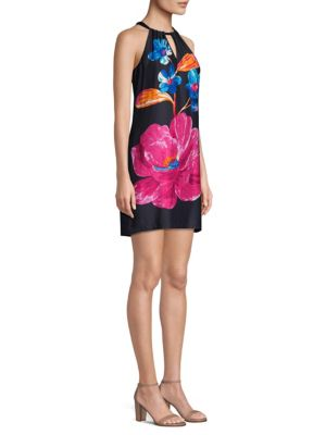 roe-halter-shift-dress by trina-turk