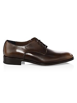 e4de1dd93803 Salvatore Ferragamo - Daniel Lace-Up Leather Derby Shoes - saks.com