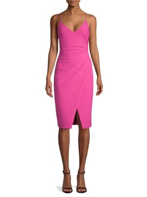 Bowery Sheath Dress, Hot Pink