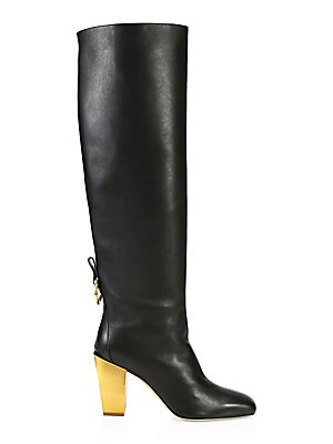 684a3914b5a Sam Edelman - Hai Snakeskin Knee-High Boots - saks.com
