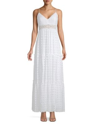 Melody Tiered Eyelet Maxi Dress by Lilly Pulitzer