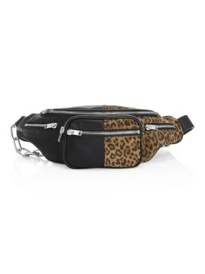 Attica Soft Leopard-Print Fanny Pack Bag, Multi