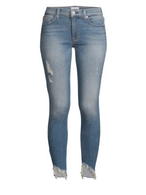 Nico Mid-Rise Cropped Jeans