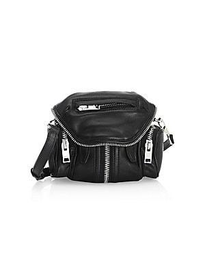 bc2fb2334f1c Alexander Wang - Marti Micro Leather Shoulder Bag - saks.com