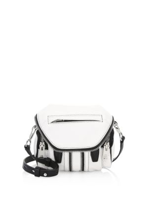 Marti Micro Leather Shoulder Bag by Alexander Wang