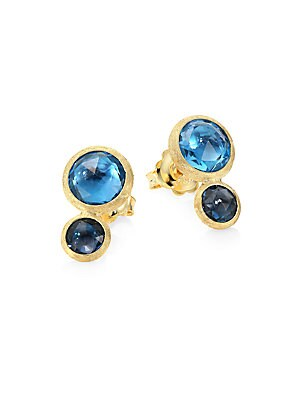 376469f4decf1 Marco Bicego - Jaipur 18K Yellow Gold & Topaz Stud Earrings