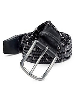 145df8680fde3 COLLECTION Woven Belt BLACK CHARCOAL. QUICK VIEW. Product image