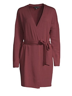 bd3ecd6a98 QUICK VIEW. Saks Fifth Avenue. COLLECTION Hattie Classic Wrapped Robe
