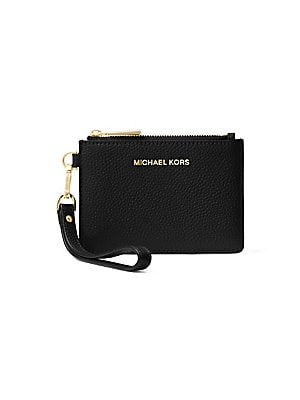18b4e7e0dc60a5 MICHAEL Michael Kors - Small Money Pieces Leather Coin Purse - saks.com