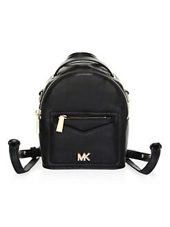 b5e0cfcba3dd Michael Kors Convertible Leather Backpack